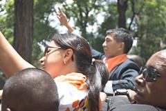 Arrivée de Andry et Mialy Rajoelina