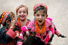 Bandit Queen (Nadeem Khawar.) Tags: children action joy laughter kalash kafir kalasha chitral kafiristan hidukush gettyimagesmiddleeast