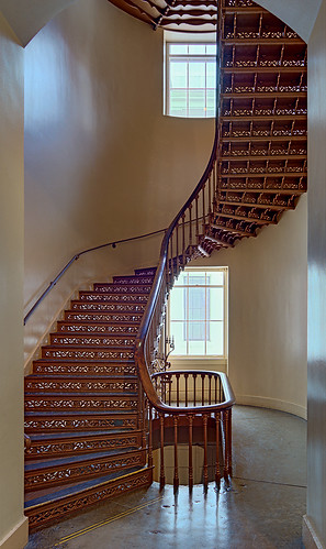 Old Courthouse, Jefferson National Expansion Memorial, in Saint Louis, Missouri, USA - staircase