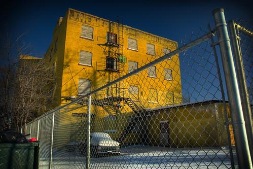 The Yellow Warehouse