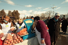 . (al cafone) Tags: golden teeth meat kazakhstan bazar taraz calbasa