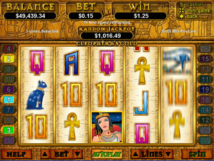 cleopatra's gold slot game online review