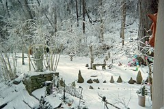 Angel standing guard (junebug_1944) Tags: icestorm eurekaspringsar january2009