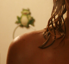 lack of energy (looking through your eyes) Tags: selfportrait me wet hair shoulder 365days