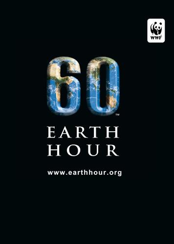 Earth Hour TShirt Template by Earth Hour Global.