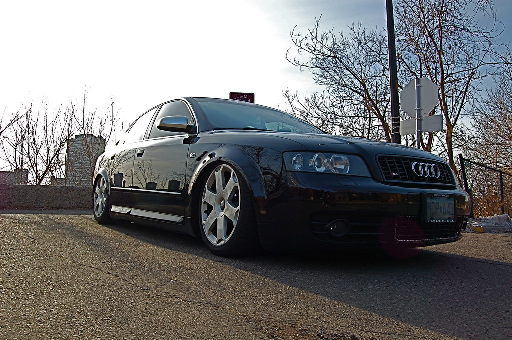 Bagged B6 S4 pictures/ now with updated header install  12/8/09