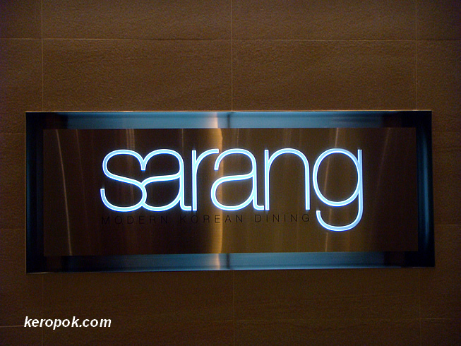 Sarang - Modern Korean Dining