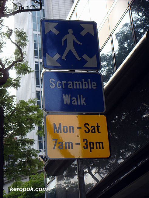 Scramble Walk