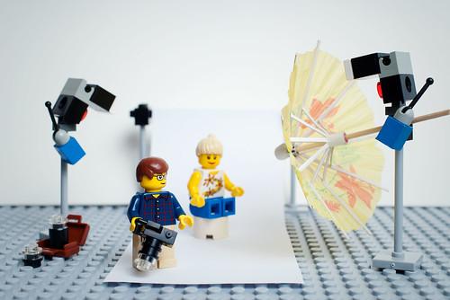 Strobist LEGO tribute