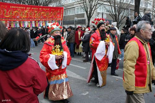 Ils sont beaux les petits vieux deguisés en Anciens Chinois