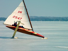 DN hiking it, Elk Lake- Elk Rapids, Michigan (rickrjw) Tags: winter beautiful sailing michigan sony fast racing 4h iceboats sonydscf707 petoskey elklake dscf707 jackjacobs photoshopalbum rickrjw