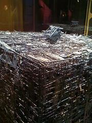 Borg Cube (sklender) Tags: startrek assimilation scifi borgcube detroitsciencecenter sklender startrektheexhibition