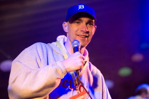 Aaron Brazell as Eminem