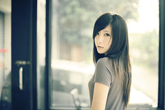 Cera (`Kevin WangWANG CHI WEN)) Tags: girl canon garden eos photo model photos 5d firstplace  2009       aplusphoto