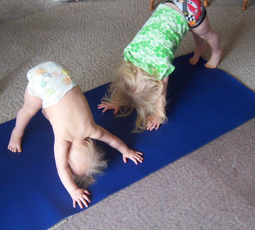 Yoga with the kids
