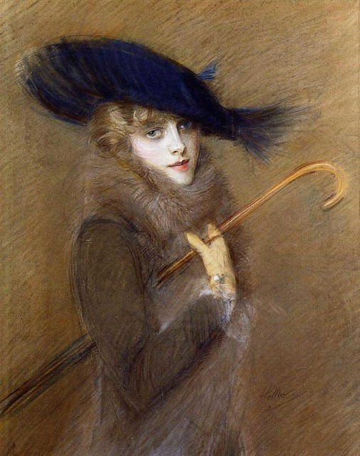 Paul César Helleu, Peggy Letellier, 1905