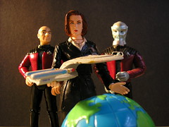 A Future of Paradox (DarthLen) Tags: world travel trek star globe time enterprise paradox scully xfiles