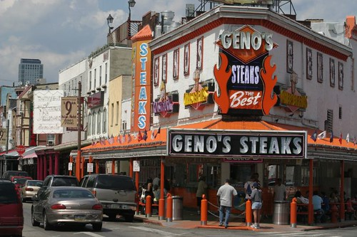 Geno's Cheesesteaks...