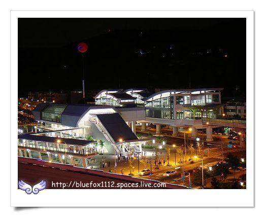 090704內湖線通車日  16_劍南站夜景