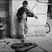 Violinist by Salvatore Falcone