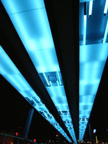 基隆港觀海平台燈光工程01