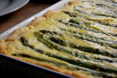asparagus & potato tart 2