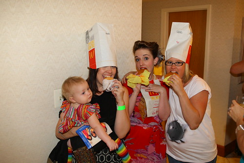 Ivy, Stephanie, Casey & Emily