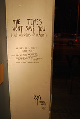the times wont save you (this rain smells of memory) (this is limbo) Tags: street art rain hope this is los gallery angeles you know tel aviv save memory times wont smells limbo carmichael knowhope thisislimbo