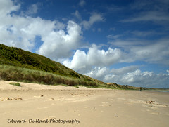 YES, WE DO HAVE GREAT BEACHES IN IRELAND! (Edward Dullard Photography. Kilkenny, Ireland.) Tags: ireland summer sky cloud beach wexford savingprivateryan curracloe kilkennyphotographers