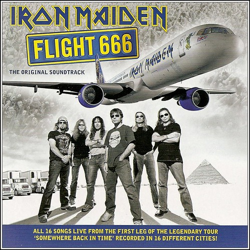 "Iron Maiden ""Flight 666 - The Original Soundtrack"" (2009)"