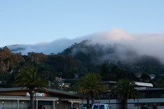 Fog on the hills