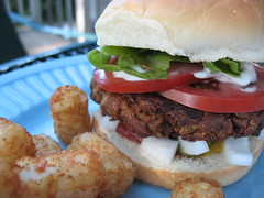 BBQ Tempeh Burger