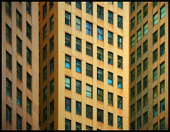 convergence (eYe_image) Tags: abstract building architecture michigan detroit