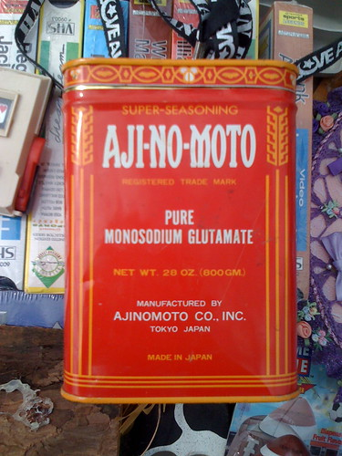 Monosodium Glutamate from Aji-No-Moto by LauraMoncur from Flickr
