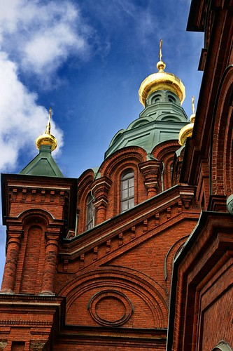 "Helsinki: Uspenski Cathedral • <a style=""font-size:0.8em;"" href=""http://www.flickr.com/photos/26679841@N00/3811993937/"" target=""_blank"">View on Flickr</a>"