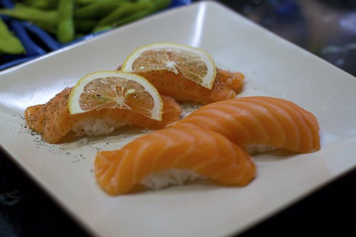 Salmon and Salmon with Dill/Lemon