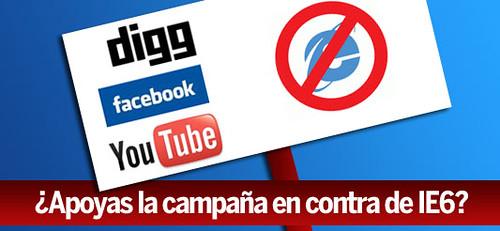 Campaña NO IE6