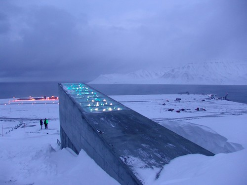Exterior of the Svalbard Global Seed Vault