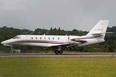G-GEVO - Private - Cessna 680 Citation Sovereign - Luton - 090824 - Steven Gray - IMG_9334