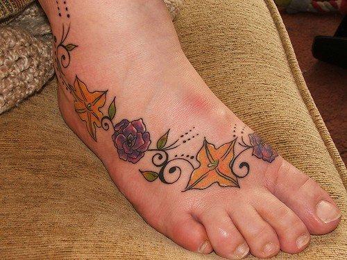 tatuagens pés - fotos