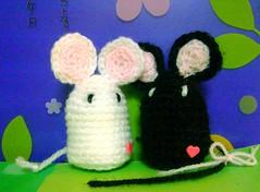 mice (flower violet)