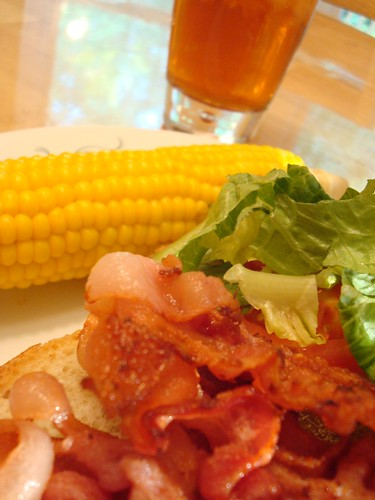 BLT and Corn