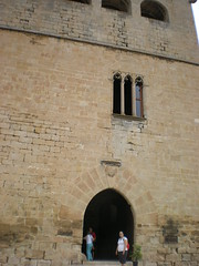 Valderrobres, Agosto 2009 Puerta del castillo