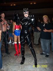DragonCon 2009 (Anniss) Tags: costume comic cosplay scifi 2009 catwoman con dragoncon batmanreturns anniss