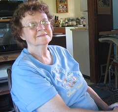 Aunt Bev, in Sept. 2006