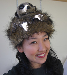 Yiying Lu in the meer cat hat :)