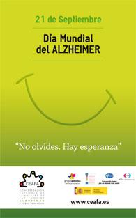 Cartel Dia Alzheimer 2009