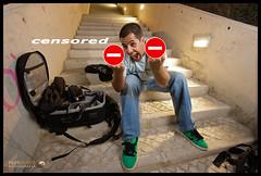 Censored (Filipe Batista) Tags: light portrait white luz portugal canon studio flash wide wideangle estudio trigger maos grandeangular efs1022 triggers praiadaareiabranca strobist 40d canon580exii antniochagas disparadores ctr301p filipebatista