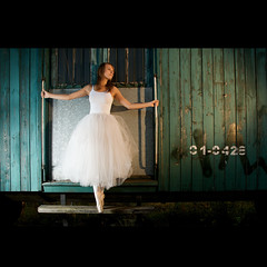 01-0428 (Marcin Sowa) Tags: lighting ballet train umbrella dance nikon ballerina explore rosco ii trainstation plus nikkor filters emotions krakw cracow cls pw cto balet d300 lightstand explored pocketwizard krakoff strobist strobists caraco 18105mm sb900 danceproject balletproject caracoemotions