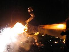 The Burning of Old Man Gloom (kittiegeiss) Tags: santafe fiestas zozobra myfavoritetimeofyear conquistadordondiegodevargas